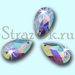 Купите стразы пришивные Drope Crystal AB Капля Кристал АБ в интернет-магазине StrazOK.ru
