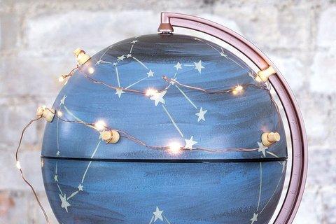 Гирлянда на медной нити One Canoe Two Globe Gallery Copper Wire Lights 87
