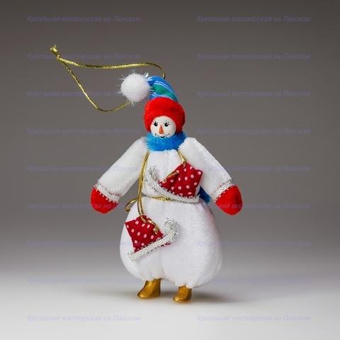 Гном-снеговик