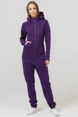 """Комбинезон """"SpaceSuit 2.0"""" женский фиолетовый с начесом"""