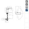 Смеситель для раковины AROLA 2601B белый - фото №3