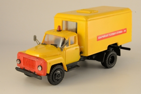 GAZ-53 Emergency Gas Service Kompanion 1:43