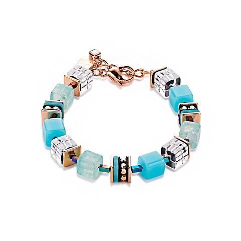 Браслет Coeur de Lion 4797/30-0600 цвет голубой, белый