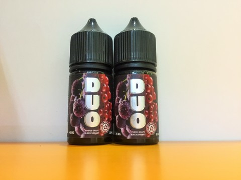Purple grape Blackcurrant by DUO Salt 30мл