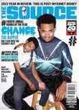 Журнал The Source январь 2014 обложка