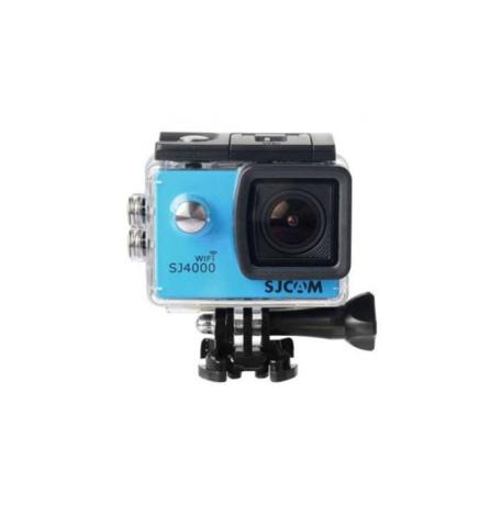 Экшн-камера JS4000 1080p Влагоустойчивая (Синий)