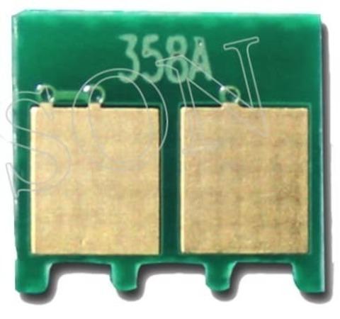 Чип CF364A для желтого фотобарабана Color LaserJet Enterprise flow M880, M855