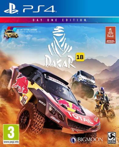 Sony PS4 Dakar 18. Издание первого дня (английская версия)