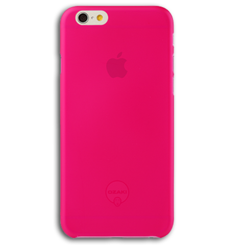 Ozaki O!coat 0.3 Jelly for iPhone 6 / 6S Pink (розовый)