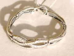 Нева (серебряный браслет)