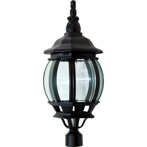 Светильник садово-парковый, 100W 230V E27 черный, 8103 (Feron)