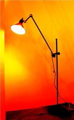 торшер LAMPE GRAS 215 ( черный + латунь )
