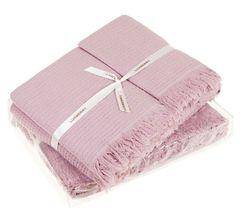 Полотенце 30х50 Luxberry Macaroni розовое