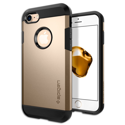 Spigen SGP Case Tough Armor for iPhone 7 Champagne Gold SGP-042CS20490