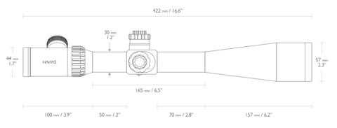 ОПТИЧЕСКИЙ ПРИЦЕЛ HAWKE TACTICAL AIRMAX 30 8-32X50 SF(AMX IR)