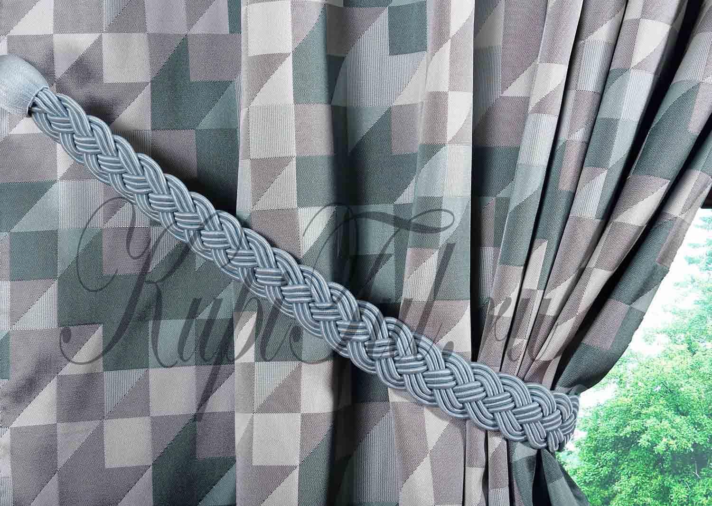 Готовая штора Carrés-2