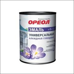 Эмаль для внутренних и внешних работ ЭМПИЛС Ореол алкидная глянцевая (белый)