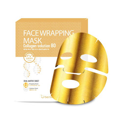 Berrisom Face Wrapping Mask Collagen Solution 80 - Маска для лица с коллагеном