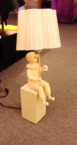 replica Jaime Hayon  CLOWN wall lamp H45 beige  ( 2 )