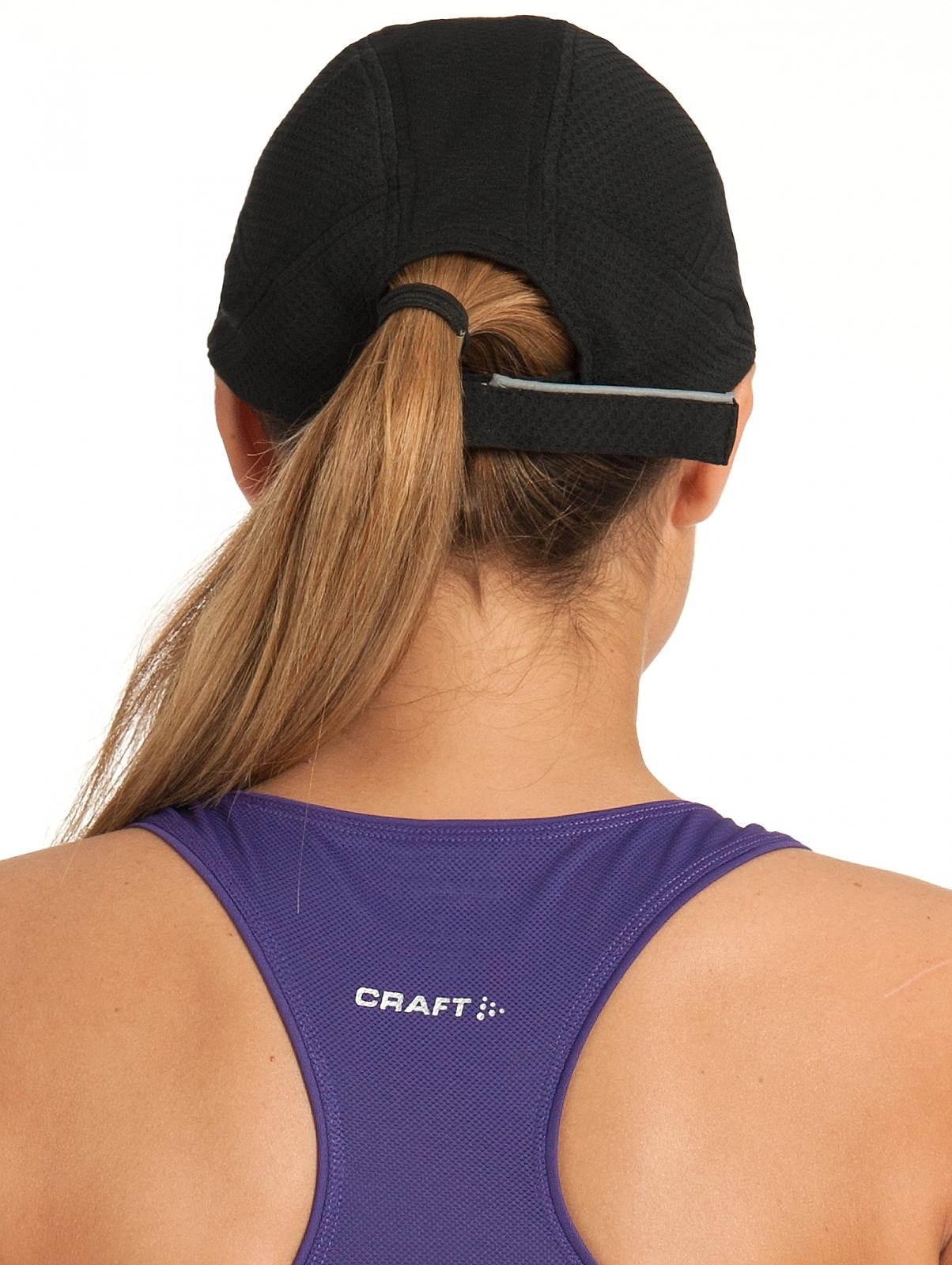 Кепка для бега Craft Running Cap (1900095-1999) черная фото