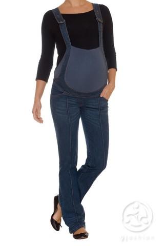 Комбинезон для беременных 04471 синий