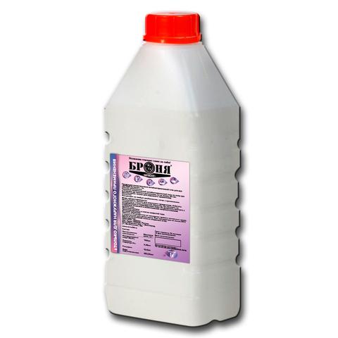 Дезинфицирующий состав Броня 1000мл (антисептик для поверхностей и рук, антибактериальное средство, раствор, спрей, гель, санитайзер)