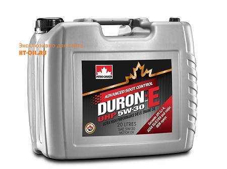дизельное масло duron-e uhp 5w-30 DUHP53J20
