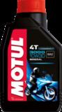 Motul  3000 4T 10W30 Минеральное масло для четырехтактных двигателей