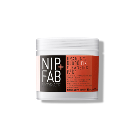 Увлажняющие пады NIP + FAB Dragons Blood Fix Cleansing Pads