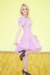 Платье 0002 Розовое