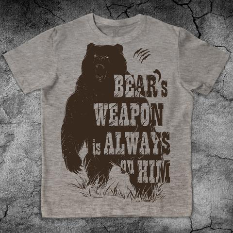 Купить хлопковую футболку Bear для пауэрлифтинга, для зала, фитнеса, стиль жизни