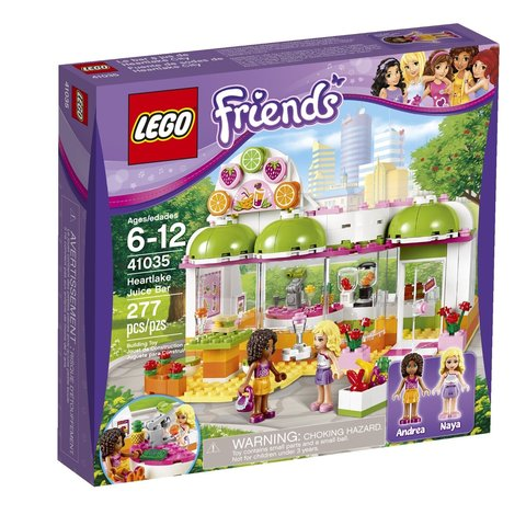 LEGO Friends: Фреш-бар Хартлейк Сити 41035 — Heartlake Juice Bar — Лего Френдз Друзья Подружки