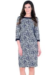 WD2622F платье женское, синее