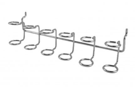 Крючок на перфорированную панель — кольцевой подвес
