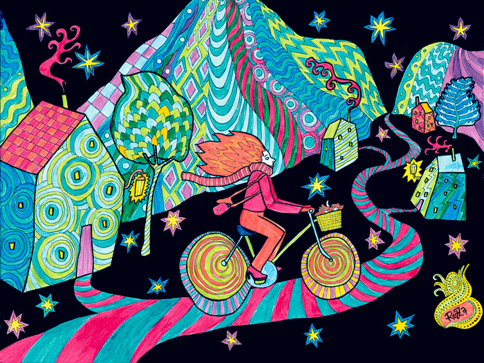 Bicycle Night