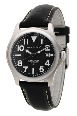 Купить Спортивные часы Momentum Atlas Ti (кожа, сапфир) по доступной цене