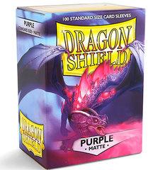Dragon Shield - Фиолетовые матовые протекторы 100 штук