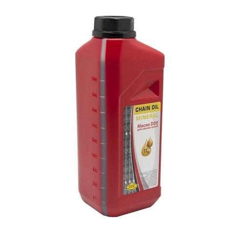 Масло для смазки цепей DDE  ( 1л ) минеральное