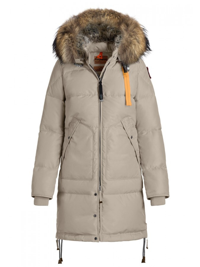 Пуховик Parajumpers Long Bear Sand (Белый песок)