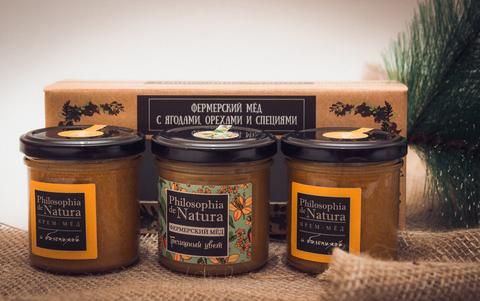 Подарочный набор крем-меда «Праздничный»