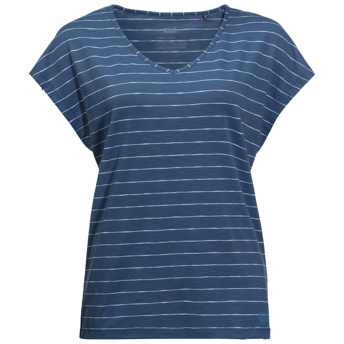 TRAVEL STRIPED T W