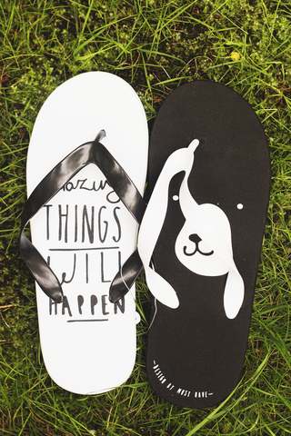 Шлепанцы Amazing Things Will Happen