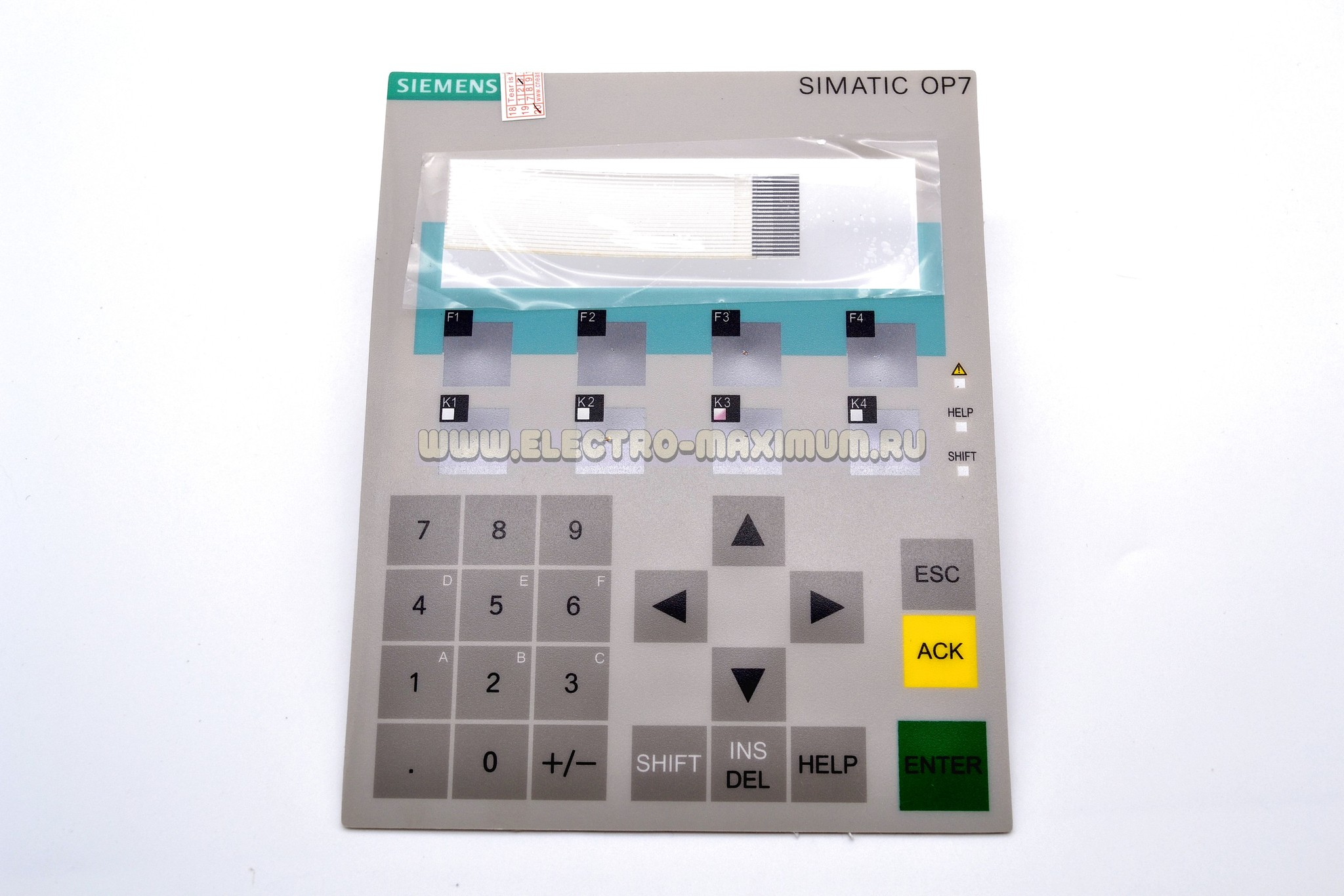 KEYBOARD FOR OP7 6AV3607-1JC20-0AX1 6AV3607-1JC00-0AX1 SIMATIC