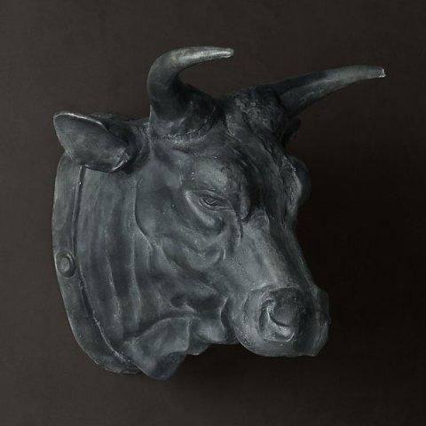 Голова быка Restoration Hardware