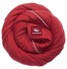 Трикотажный слинг-шарф manduca sling chili (красный)
