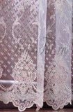 Готовая штора. Микросетка с вышивкой Elisabeth (pink)