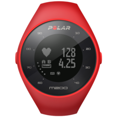 Пульсометр Polar M200 HR red