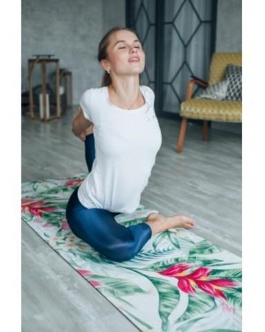 Каучуковый коврик для йоги Tropic 183*61*0,3см