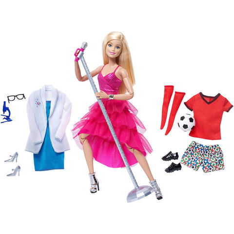 Кукла Барби c комплектами одежды - Безграничные Движения, Mattel