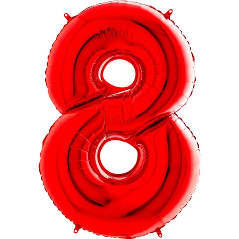 Цифра 8 (Красная)